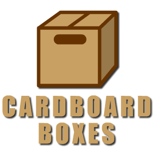 cardboard boxes, trade welcome